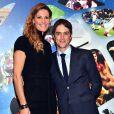 """Sophie Thalmann et son mari Christophe Soumillon - 26ème édition des """"Sportel Awards"""" au Grimaldi Forum à Monaco le 13 octobre, 2015."""