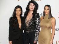 Kourtney et Kim Kardashian : Sexy sur le tapis rouge pour une soirée avec Cher