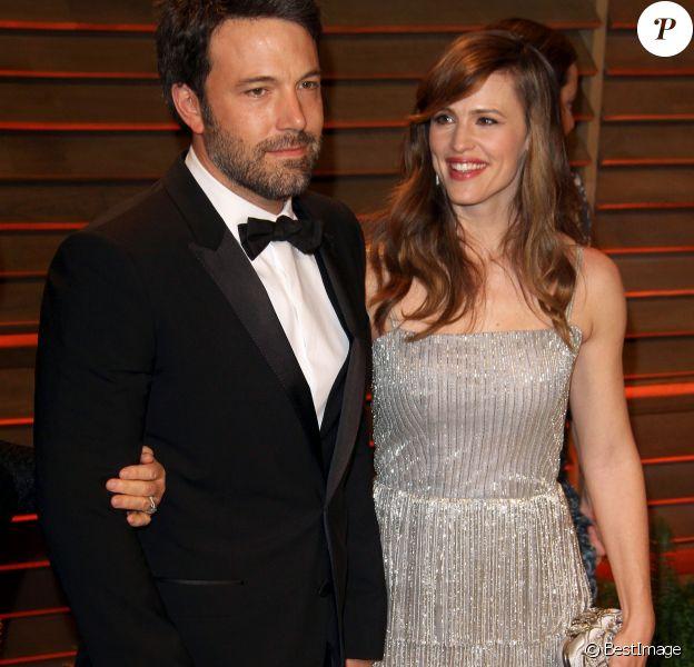 Ben Affleck, Jennifer Garner - Arrivées des people à la soirée Vanity Fair après la 86e cérémonie des Oscars le 2 mars 2014