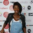 "Hapsatou Sy (enceinte) - Photocall ""10 ans Labo International - Afro Fashion Remix"" à Paris le 11 juin 2016"