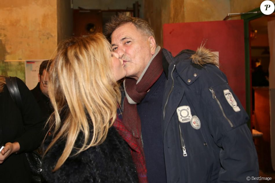 exclusif jean marie bigard et sa femme lola marois bigard avant premi re du film vive la. Black Bedroom Furniture Sets. Home Design Ideas