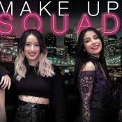 Sananas, Alex Closet... La MakeUp Squad de Maybelline en live !