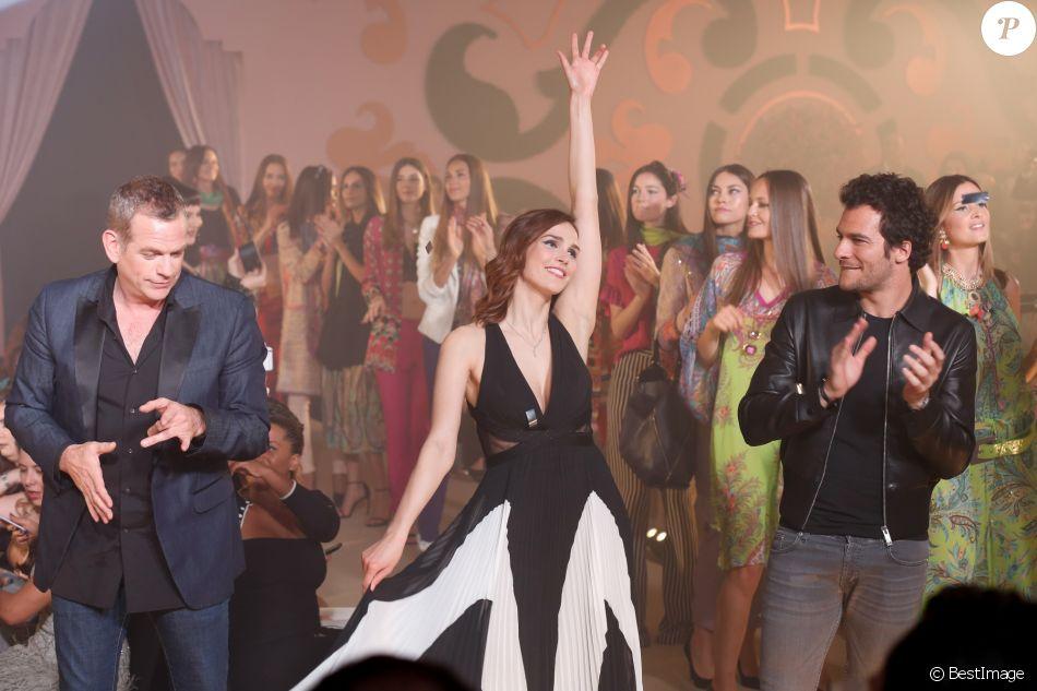 Exclusif - Garou, Camille Lou, Amir Haddad - 10ème édition du Casa Fashion Show by Kenza Cheddadi à l'hôtel Sofitel Tour Blanche à Casablanca, le 15 avril 2017.