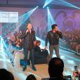 Exclusif - Garou, Amir Haddad - 10ème édition du Casa Fashion Show by Kenza Cheddadi à l'hôtel Sofitel Tour Blanche à Casablanca, le 15 avril 2017.