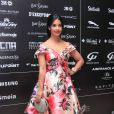 Exclusif - Alia Chergui (robe Christophe Guillarmé) - 10ème édition du Casa Fashion Show by Kenza Cheddadi à l'hôtel Sofitel Tour Blanche à Casablanca, le 15 avril 2017.