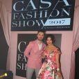 Exclusif - Ali Suna, Alia Chergui (robe Christophe Guillarmé) - 10ème édition du Casa Fashion Show by Kenza Cheddadi à l'hôtel Sofitel Tour Blanche à Casablanca, le 15 avril 2017.
