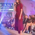 Exclusif - Ophélie Meunier - 10ème édition du Casa Fashion Show by Kenza Cheddadi à l'hôtel Sofitel Tour Blanche à Casablanca, le 15 avril 2017.