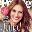 Julia Roberts en couverture du magazine People.