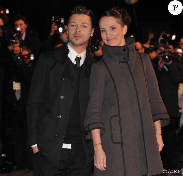 Christophe Maé et sa compagne Nadège, l'amour fou aux NRJ Music Awards