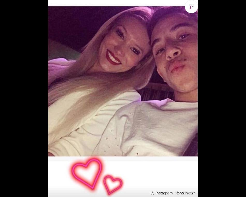Montaine et Maxime Lopez, amoureux ? Mars 2017.