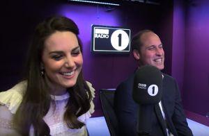 Le prince William évoque Verbier, Kate Middleton vanne: En roue libre à la radio