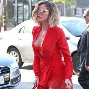 Khloe Kardashian : Lingerie fine et tenue incendiaire, la bombe se lâche