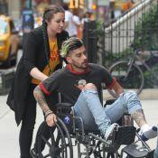 """Zayn Malik en fauteuil roulant : L'ancien One Direction """"s'est blessé""""..."""