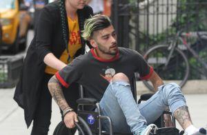 Zayn Malik en fauteuil roulant : L'ancien One Direction