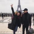 Ma2x et sa chérie Margot Malmaison - Photo publiée sur Twitter en février 2017