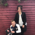 Margot Malmaison et son chéri Max2 - Photo publiée sur Instagram en mars 2017