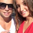 Margot Malmaison et son chéri Max2 - Photo publiée sur Instagram en janvier 2017