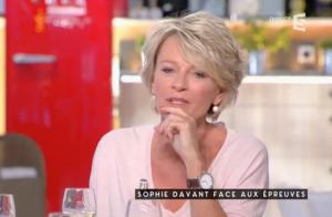 Sophie Davant, la mort de sa mère :