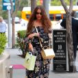 Exclusif - Sofia Vergara fait du shopping à Beverly Hills le 26 avril 2017.
