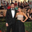 Sofia Vergara et son mari Joe Manganiello à l'arrivée des Screen Actors Guild Awards (SAG Awards) au Shrine Hall à Los Angeles le 29 janvier 2017. © CPA / Bestimage