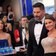 Sofia Vergara et son mari Joe Mantagliano - Tapis rouge de la 23ème soirée annuelle Screen Actors Guild awards au Shrine auditorium à Los Angeles, le 29 janvier 2017 @ Chris Delmas/Bestimage