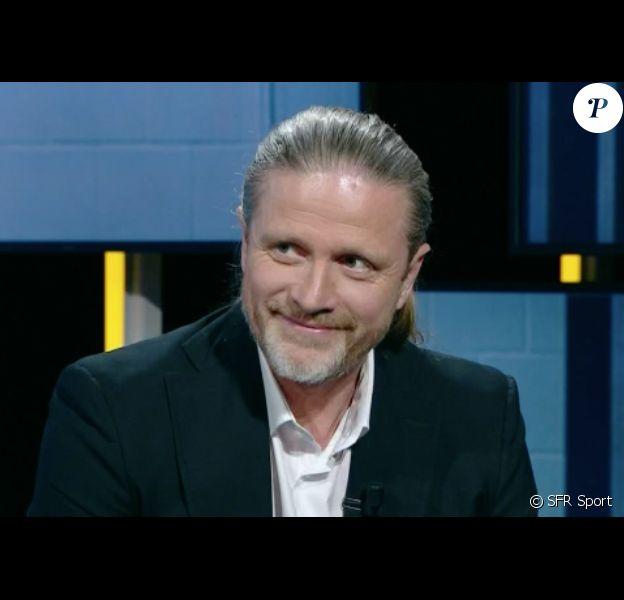 Emmanuel Petit dans Le Vestiaire sur SFR Sport le 4 mai 2017