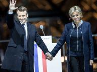 Emmanuel Macron élu président : Une victoire triomphale célébrée avec Brigitte