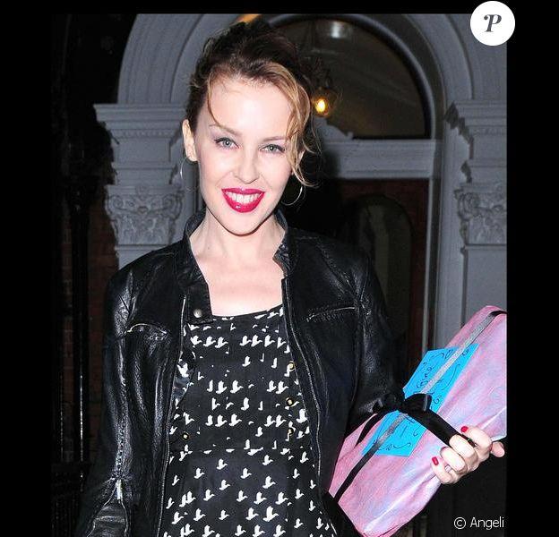 Kylie Minogue, maîtresse de cérémonie des Brit Awards 2009