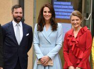 Kate Middleton : Charmante au Luxembourg avec le couple héritier