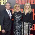 """Kurt Russell, sa compagne Goldie Hawn et sa fille Kate Hudson - Première de """"Snatched"""" à Los Angeles le 10 mai 2017."""