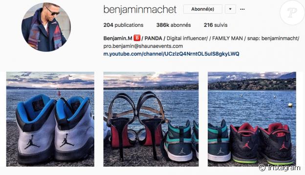 Benjamin Machet annonce sa prochaine paternité, le 14 mai 2017.