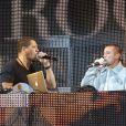 Joey Starr (JoeyStarr), Kool Shen et Ariel Wizman au VIP Room Paris le 19 septembre 2011