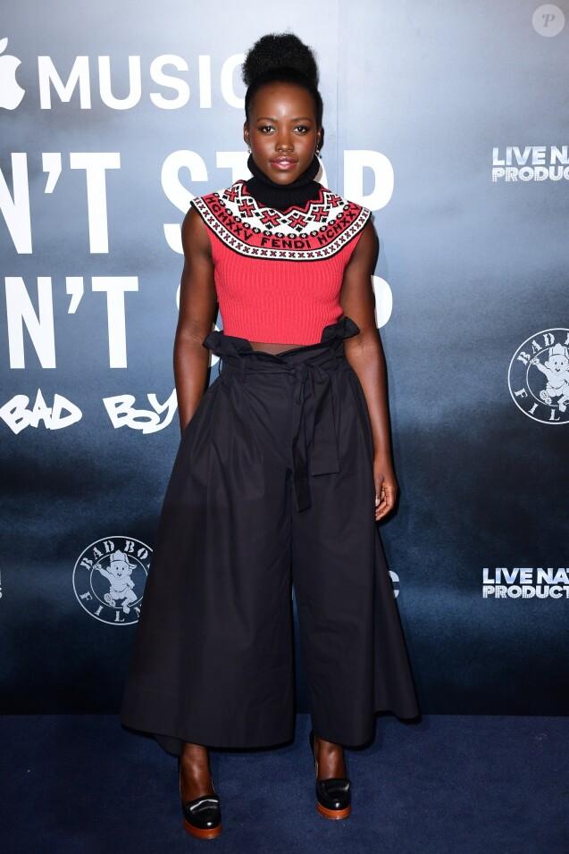 Lupita Nyong'o assiste à la projection de 'Can't Stop, Won't Stop: A Bad Boy Story' au cinéma Curzon Mayfair. Londres, le 17 mai 2017.