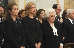 Cristina d'Espagne : Réunie avec le clan aux obsèques d'Alicia de Bourbon-Parme