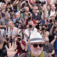 Pedro Almodovar, président du jury - Photocall du Jury du 70ème festival de Cannes le 17 mai 2017 © Cyril Moreau / Bestimage