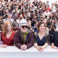 Fan Bingbing, Jessica Chastain, Pedro Almodovar, président du jury, Agnès Jaoui et Maren Ade - Photocall du Jury du 70ème festival de Cannes le 17 mai 2017 © Cyril Moreau / Bestimage