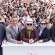 Paolo Sorrentino, Will Smith, Pedro Almodovar, président du jury, Park Chan-wook et Gabriel Yared - Photocall du Jury du 70ème festival de Cannes le 17 mai 2017 © Cyril Moreau / Bestimage