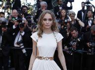 Lily-Rose Depp divine et impériale à Cannes à l'image de sa mère Vanessa Paradis