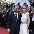 """Le réalisateur Asghar Farhadi et Lily-Rose Depp - Projection du film """"Les Fantômes d'Ismael"""" et cérémonie d'ouverture du 70e Festival de Cannes au Palais des Festivals. Cannes le 17 mai 2017."""