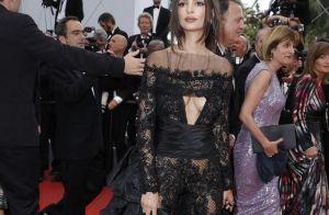 Emily Ratajkowski à Cannes : Son side-boob torride fait tourner toutes les têtes