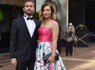 Priscilla Betti : Radieuse, elle pose (enfin) auprès de son chéri beau gosse