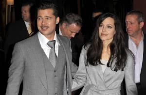 Brad Pitt et Angelina Jolie, un super couple glamour, amoureux et... complice !
