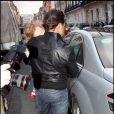 Fabrizio Politi et la fille de Geri Halliwell, Bluebell
