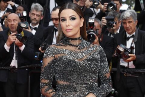 Cannes 2017 : Eva Longoria éblouissante en robe très moulante