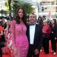 """Jade Foret et son mari Arnaud Lagardère - Montée des marches du film """"Les proies"""" lors du 70ème Festival International du Film de Cannes. Le 24 mai 2017. © Borde-Jacovides-Moreau / Bestimage"""