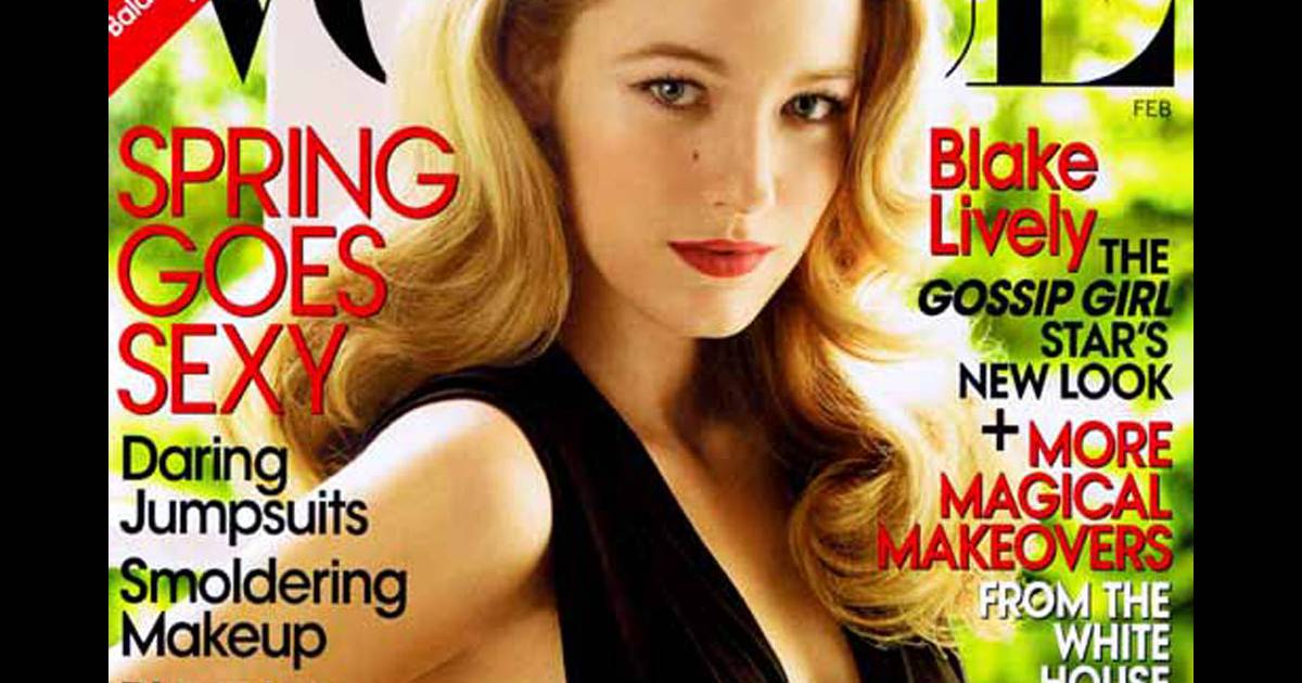 blake lively pour vogue