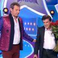 """Jean-Luc Reichmann dans """"Les 12 Coups de midi"""", le 25 mai 2017 sur TF1."""