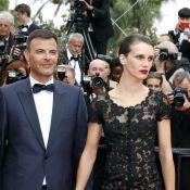 """Cannes 2017 : Marine Vacth tout en transparence avec son """"amant double"""""""