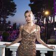 """Hailey Baldwin -Soirée de Grisogono """"Love On The Rocks"""" à l'hôtel Eden Roc au Cap d'Antibes lors du 70 ème Festival International du Film de Cannes. Le 23 mai 2017."""