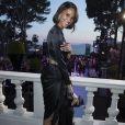 """Cindy Bruna -Soirée de Grisogono """"Love On The Rocks"""" à l'hôtel Eden Roc au Cap d'Antibes lors du 70 ème Festival International du Film de Cannes. Le 23 mai 2017."""